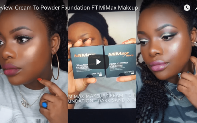 Review: Cream To Powder Foundation FT MiMax Makeup