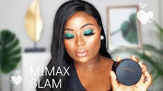 Full Face Makeup using MiMax Makeup | TYNAFEY